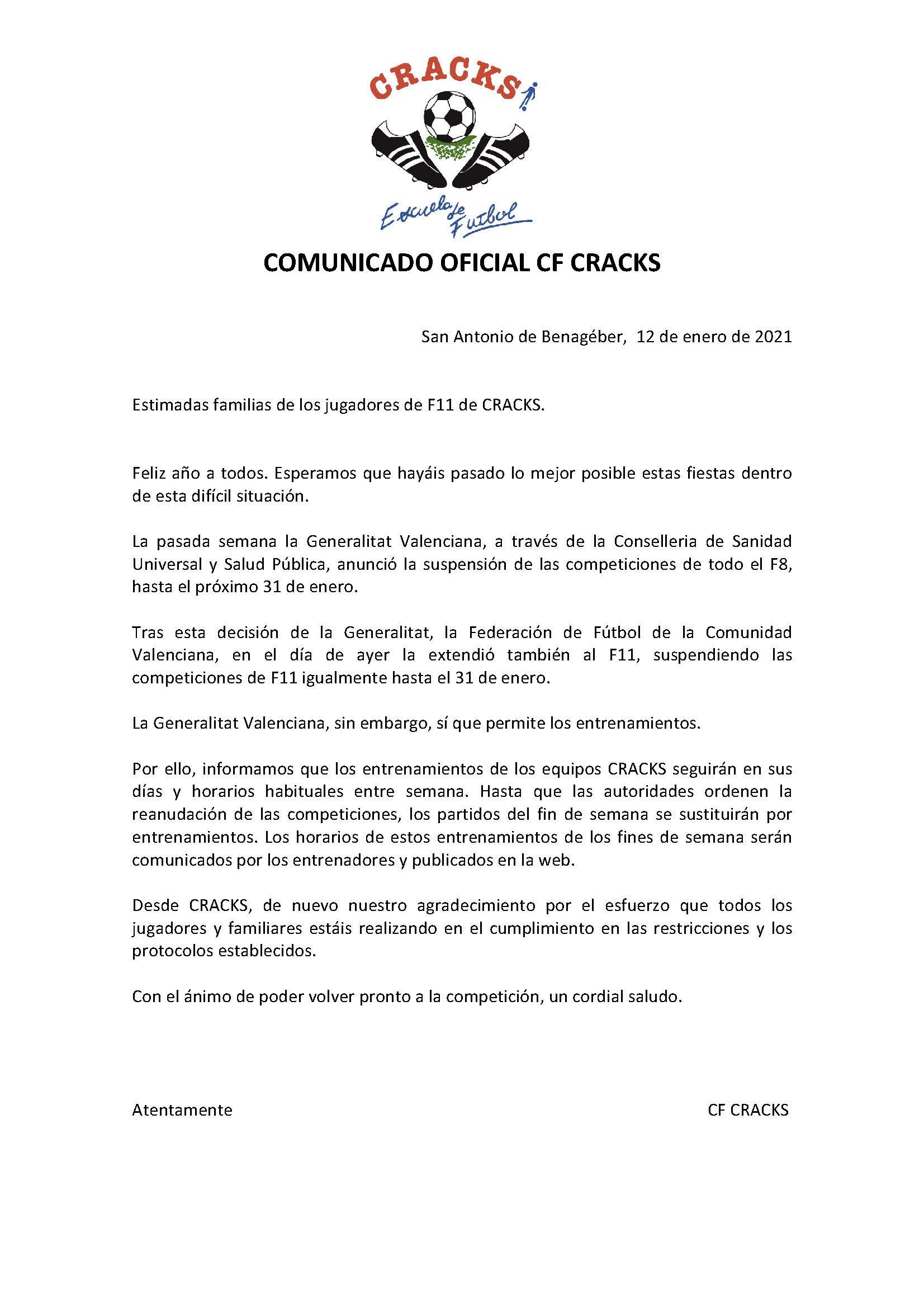 COMUNICADO 7 COVID 19