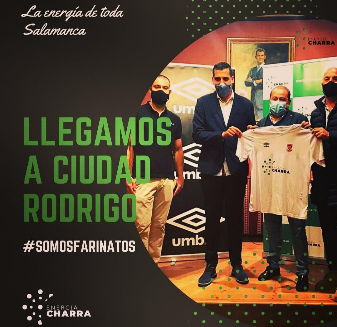 Energía Charra patrocinador del Ciudad Rodrigo CF