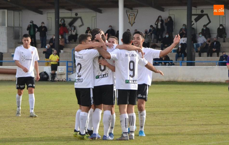 El Ciudad Rodrigo se reencuentra con la victoria ante el Valladolid