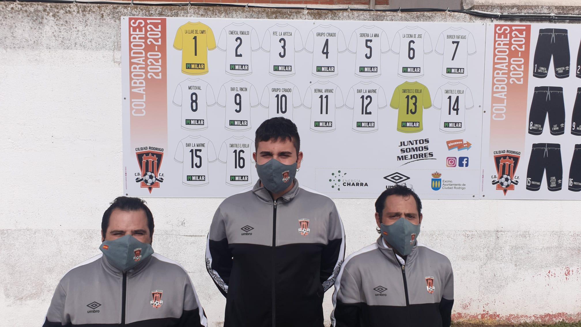 sdsFunMask.es provee al club nuevas mascarillas