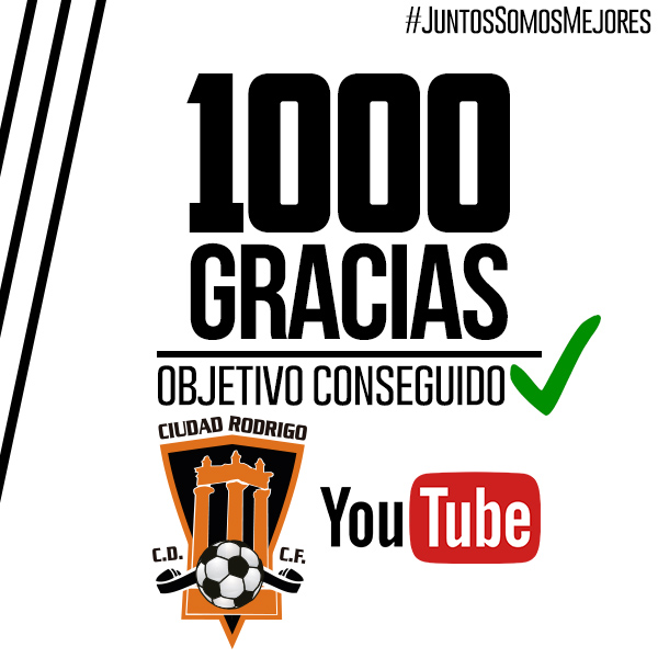 El Ciudad Rodrigo CF - Hergar será emitido por YouTube