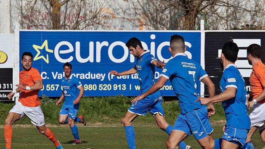 sdsPinchazo del Ciudad Rodrigo CF en Villaralbo (1-0)