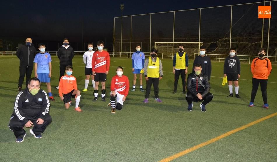 sdsVuelve el fútbol base a los entrenamientos