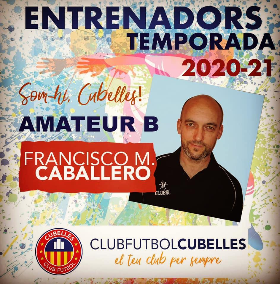 FRANCISCO CABALLERO NOU ENTRENADOR SENIOR B TEMP. 20-21