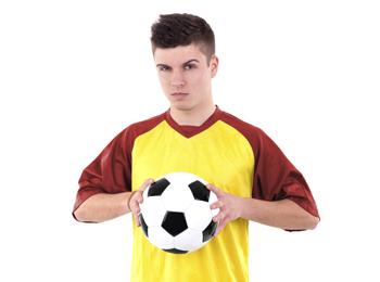 Vicen, jugador del cadete 'A'
