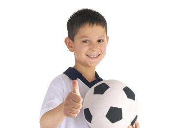 Eloy Bravo, jugador Infantil