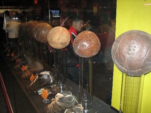 Visita al museo del Atlético de Madrid