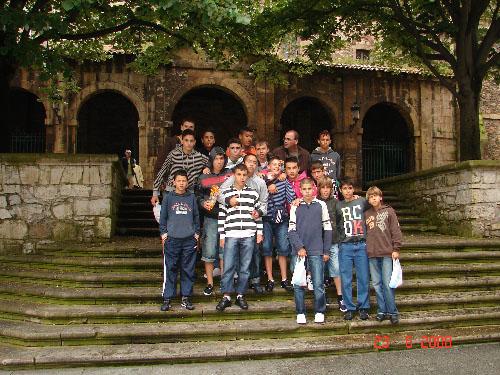 Viaje del Infantil a tierras Asturianas