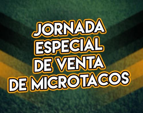 Jornada especial de venta de microtacos