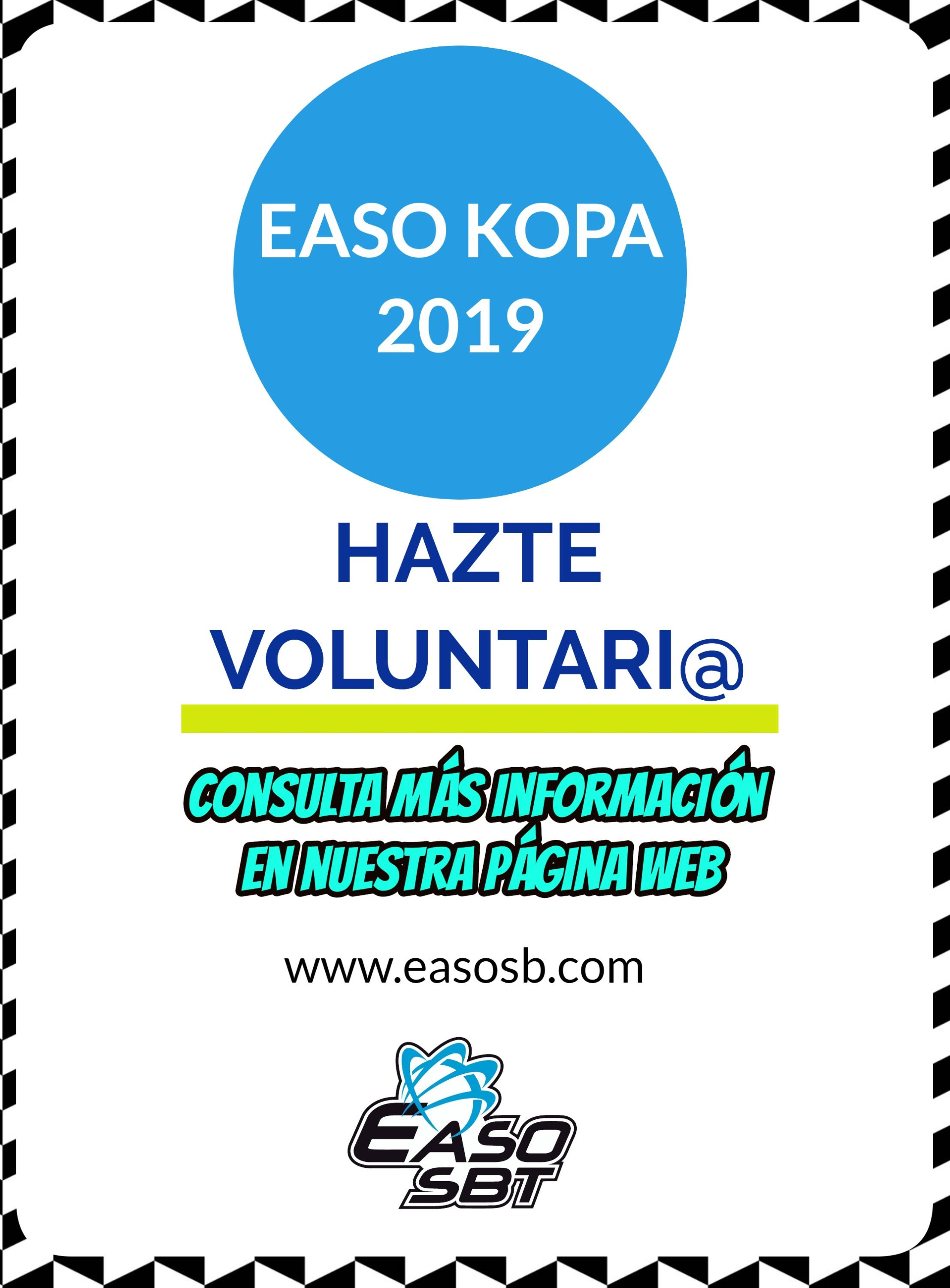 VOLUNTARIADO EASO KOPA 2019