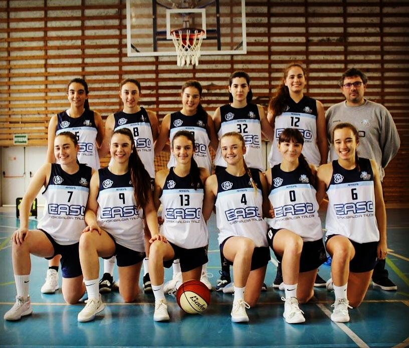 JF1 Loiola Indautxu - Easo Ibaeta Basket