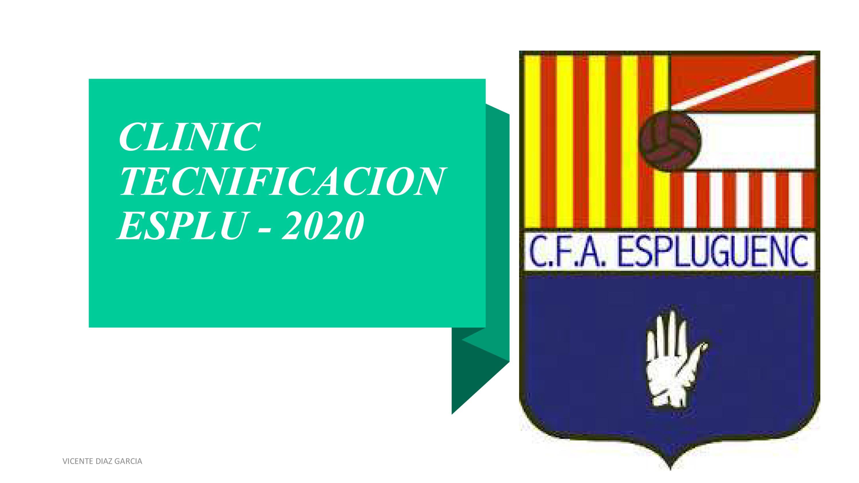 sdsTecnificació per a jugadors Infantils i Cadets. Del 13 al 24 de juliol