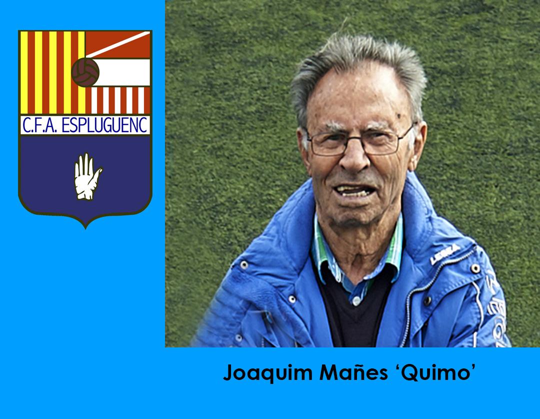 Mor Quimo, president honorífic del CFA Espluguenc