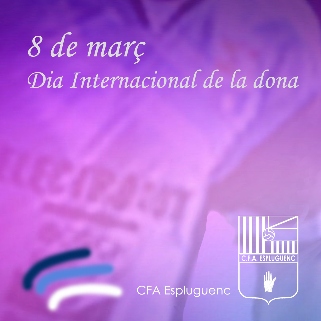 Feliç dia Internacional de la Dona