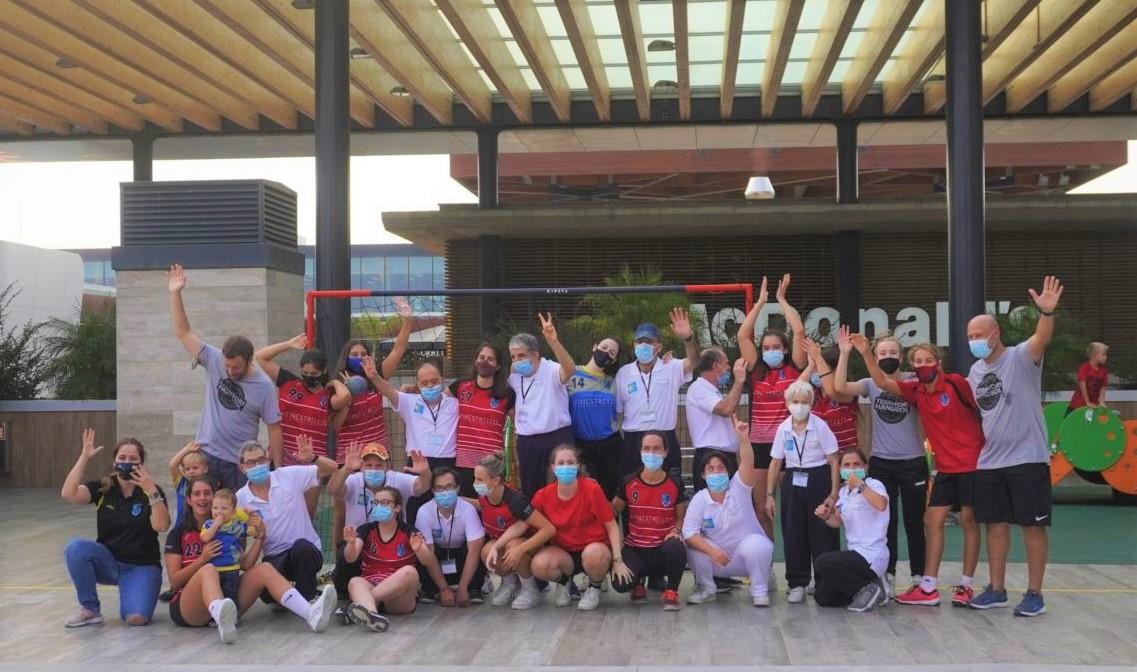 """FSC HEsplugues crea el programa """"Handbol Inclusiu"""" per promoure l'activitat física i esportiva dels seus jugadors amb persones amb discapacitat"""