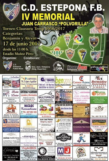 V TORNEO CLAUSURA TEMPORADA, MEMORIAL JUAN CARRASCO