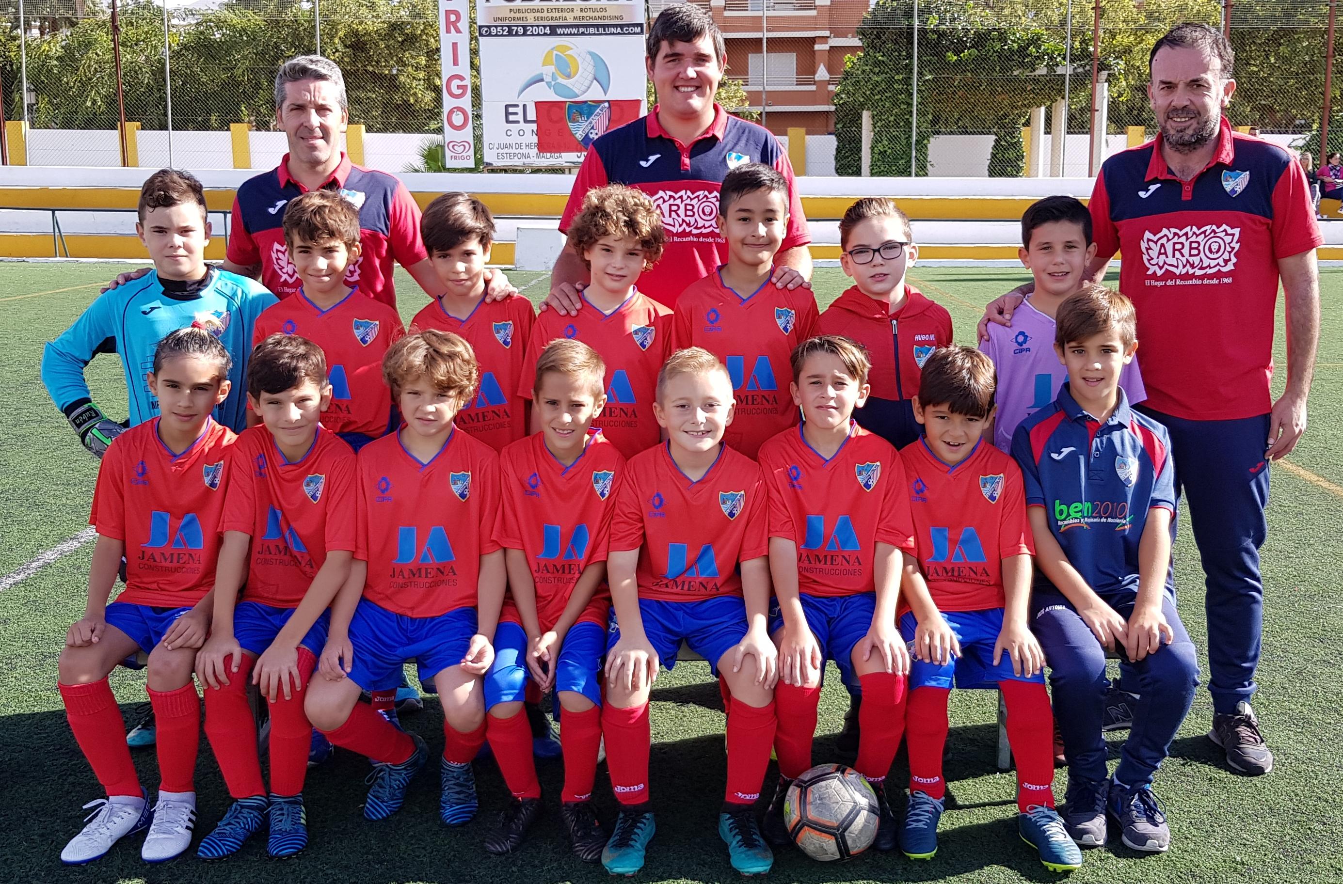EF Vélez Fco. Castejón 0-3 Benjamín A