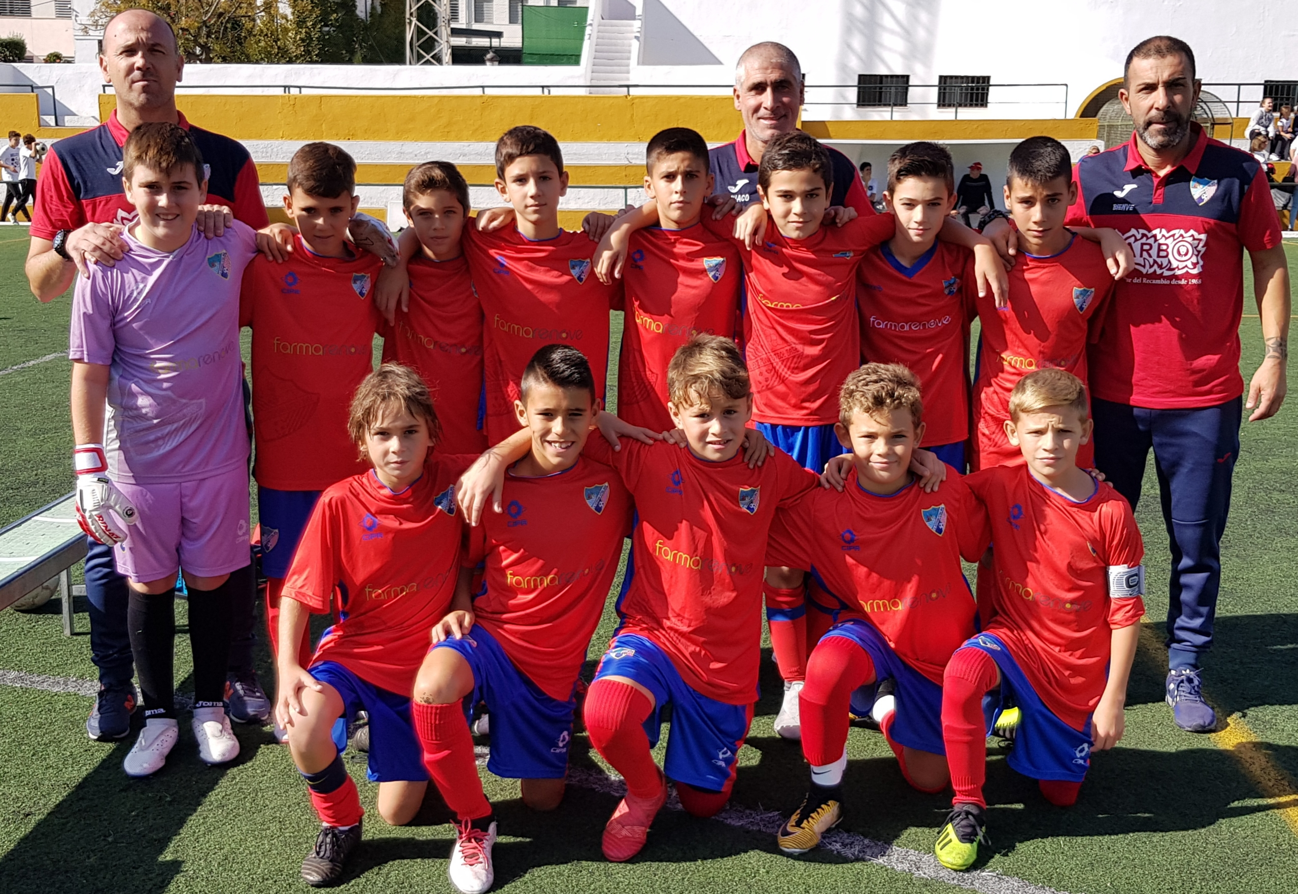 Alevín B 4-2 Asociación Faro Torrox