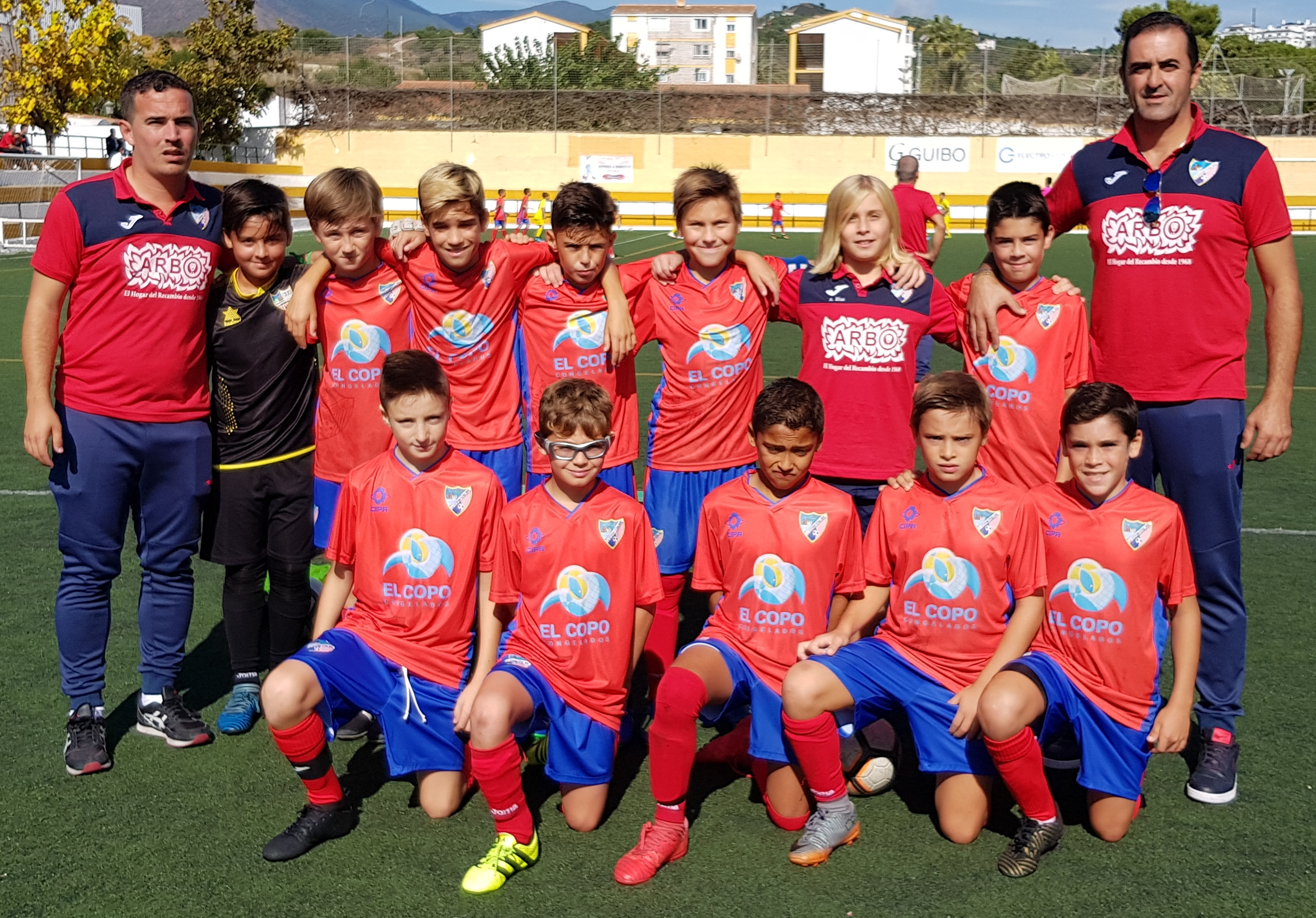 CD Carlinda 1-4 Alevín A