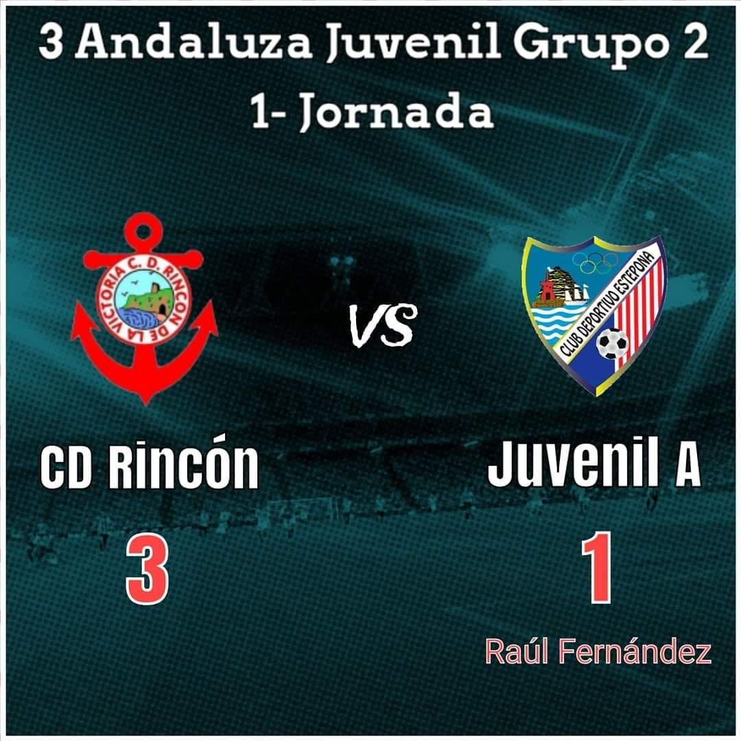 CD Rincón 3-1 Juvenil A