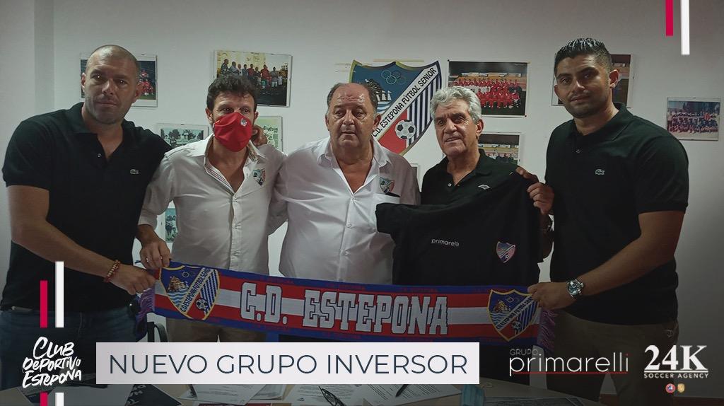 EL GRUPO PRIMARELLI NUEVO PATROCINADOR DEL CD ESTEPONA