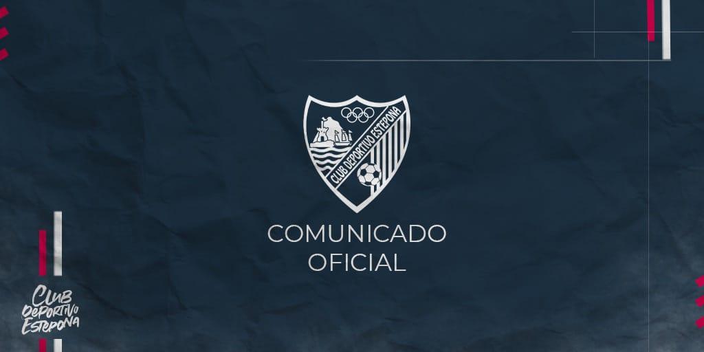 COMUNICADO OFICIAL PARTIDO DE JUVENILES