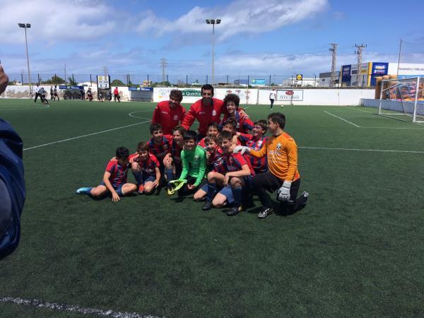 El Aleví A campió de Lliga 2017/18