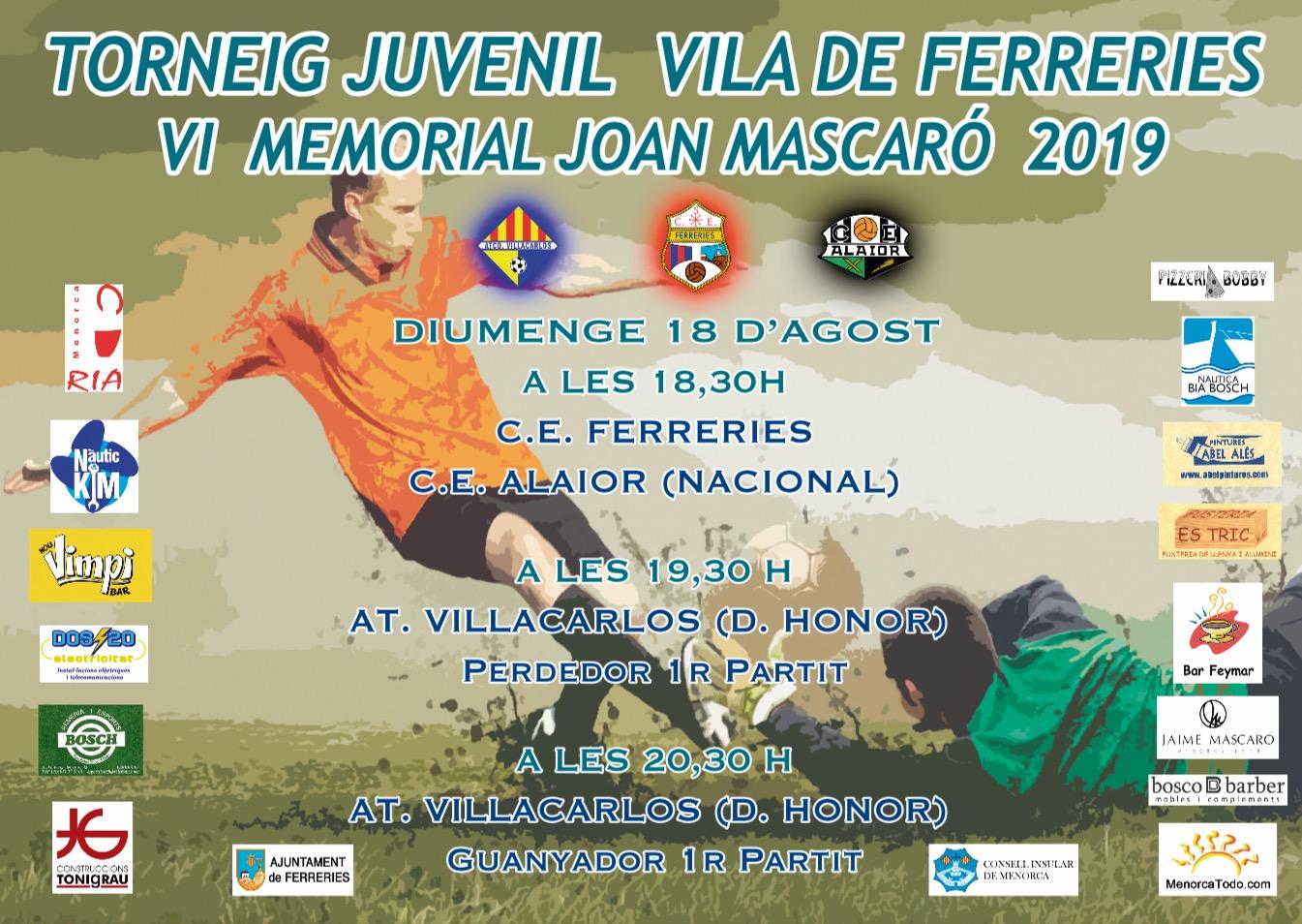 PRESENTACION DEL TORNEO JUVENIL 2019
