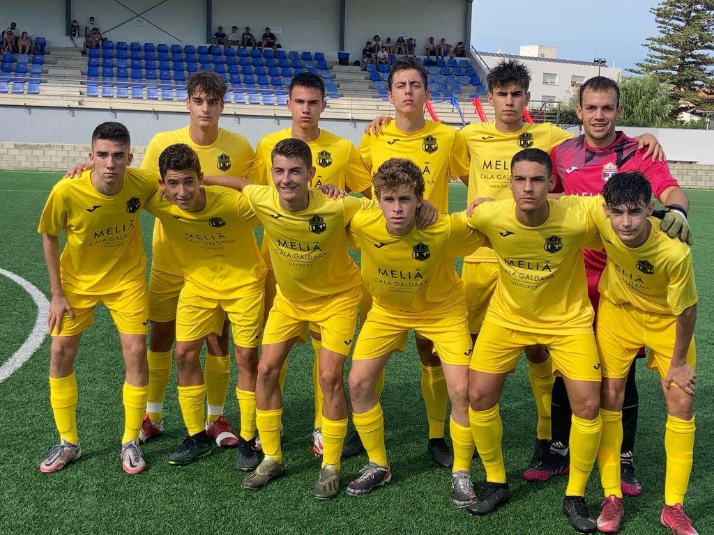 sdsEmpat a 1 del Juvenil Nacional contra el CD Menorca