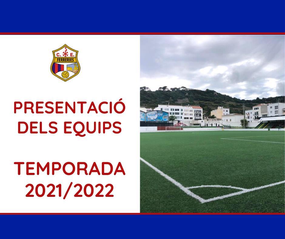 Presentació dels equips temporada 2021/22