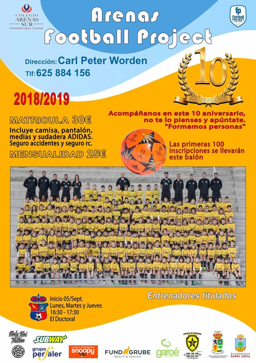ABIERTAS LAS MATRICULAS PARA LA TEMPORADA 18/19