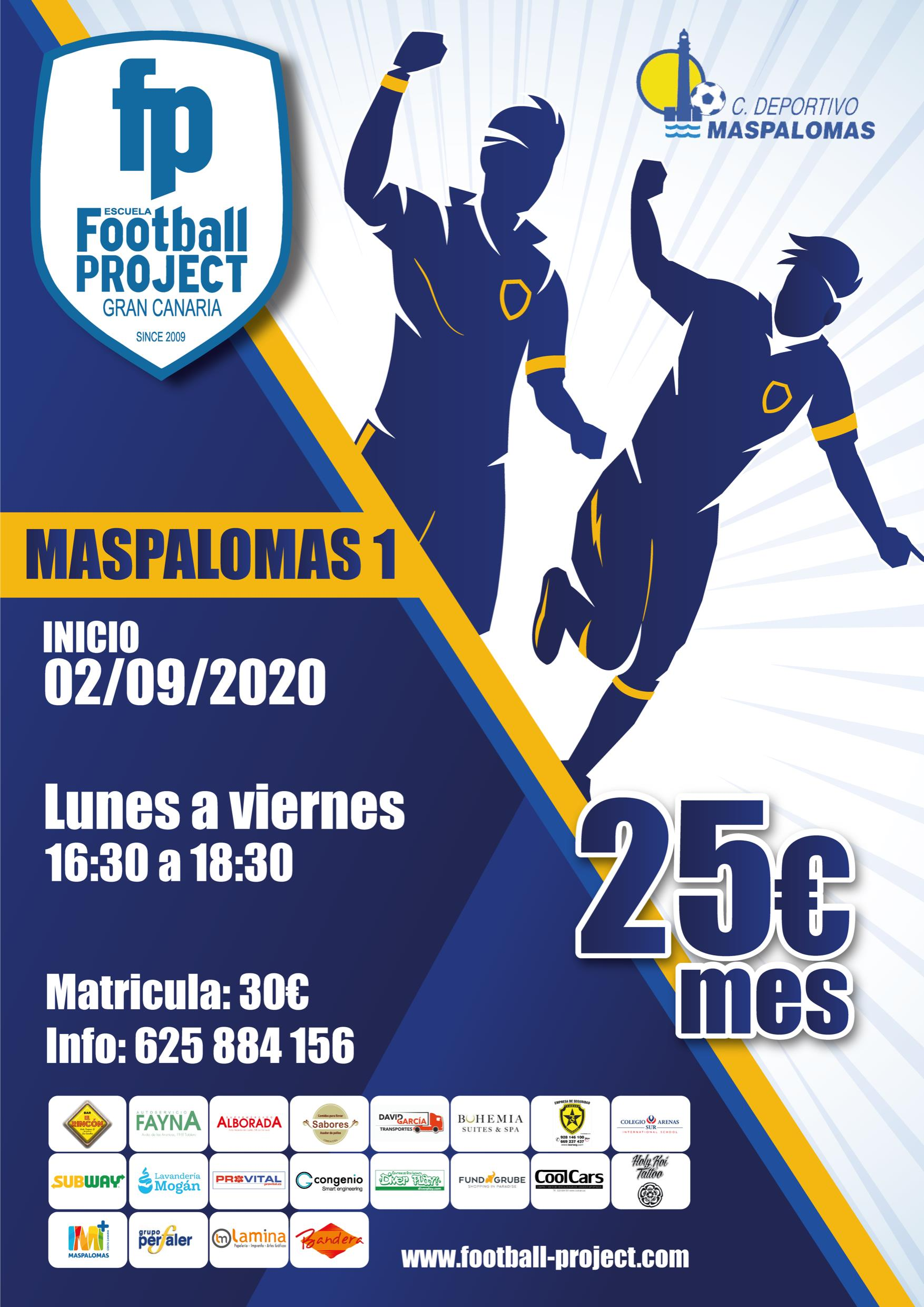Football Project - CD Maspalomas.