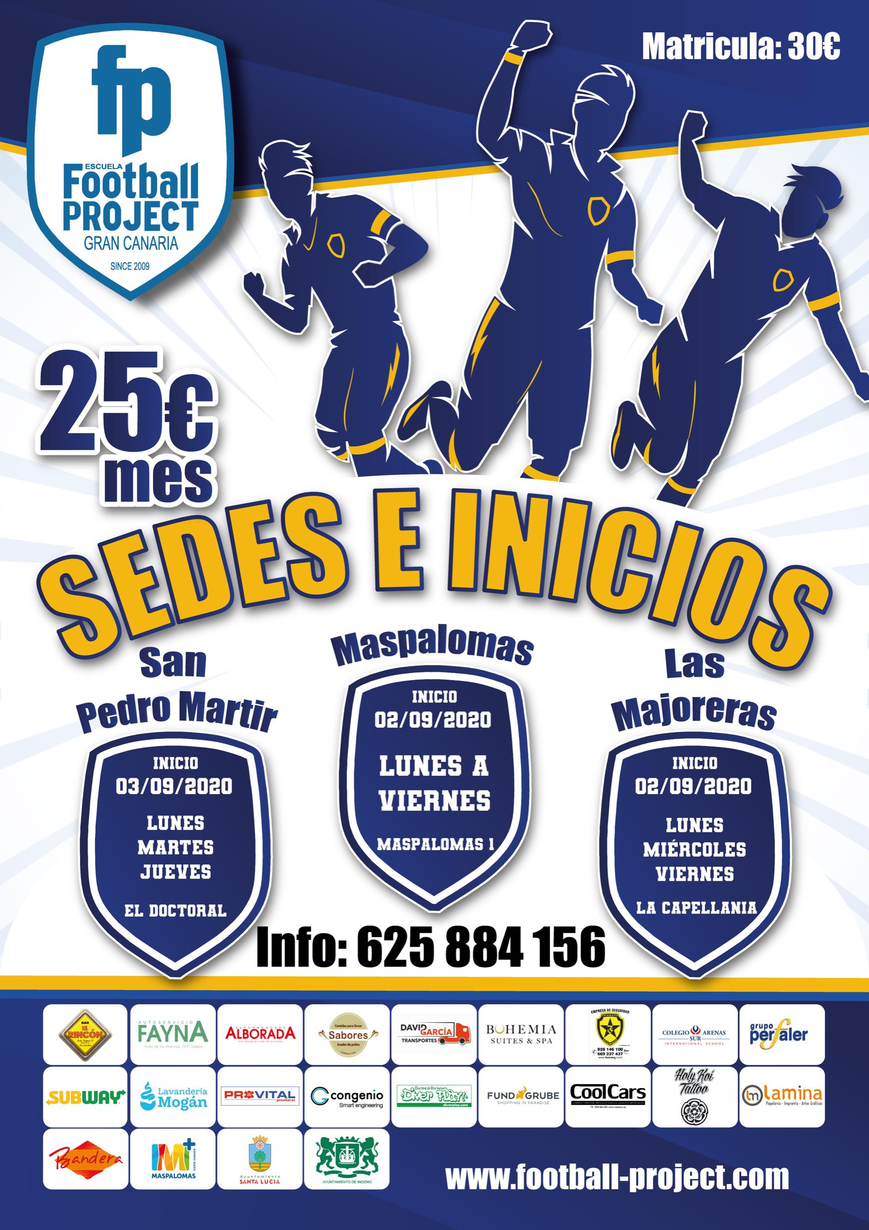 SEDES E INICIOS DE FOOTBALL PROJECT