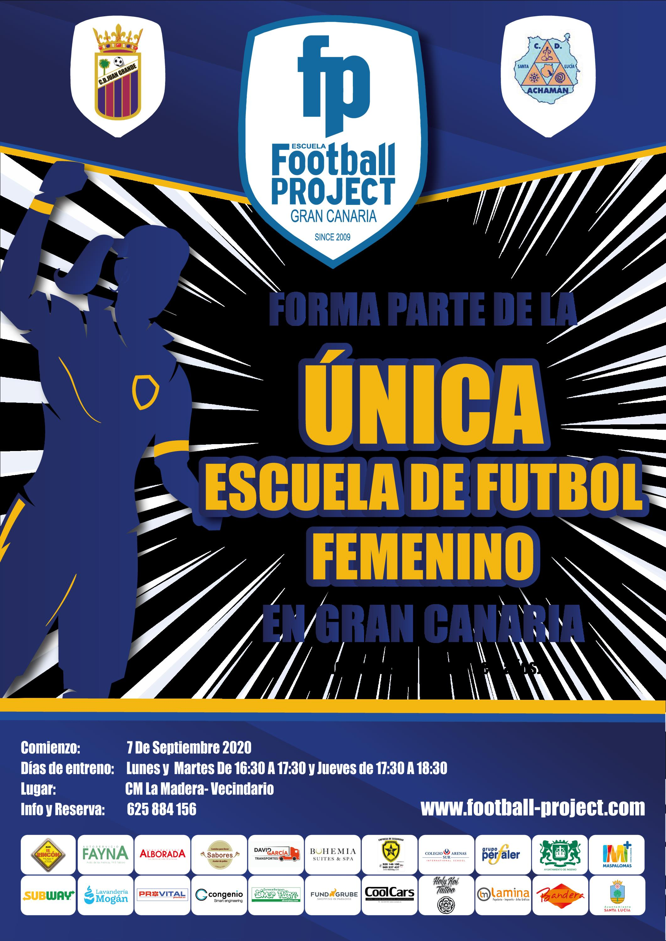 sdsESCUELA FEMENINA FOOTBALL PROJECT