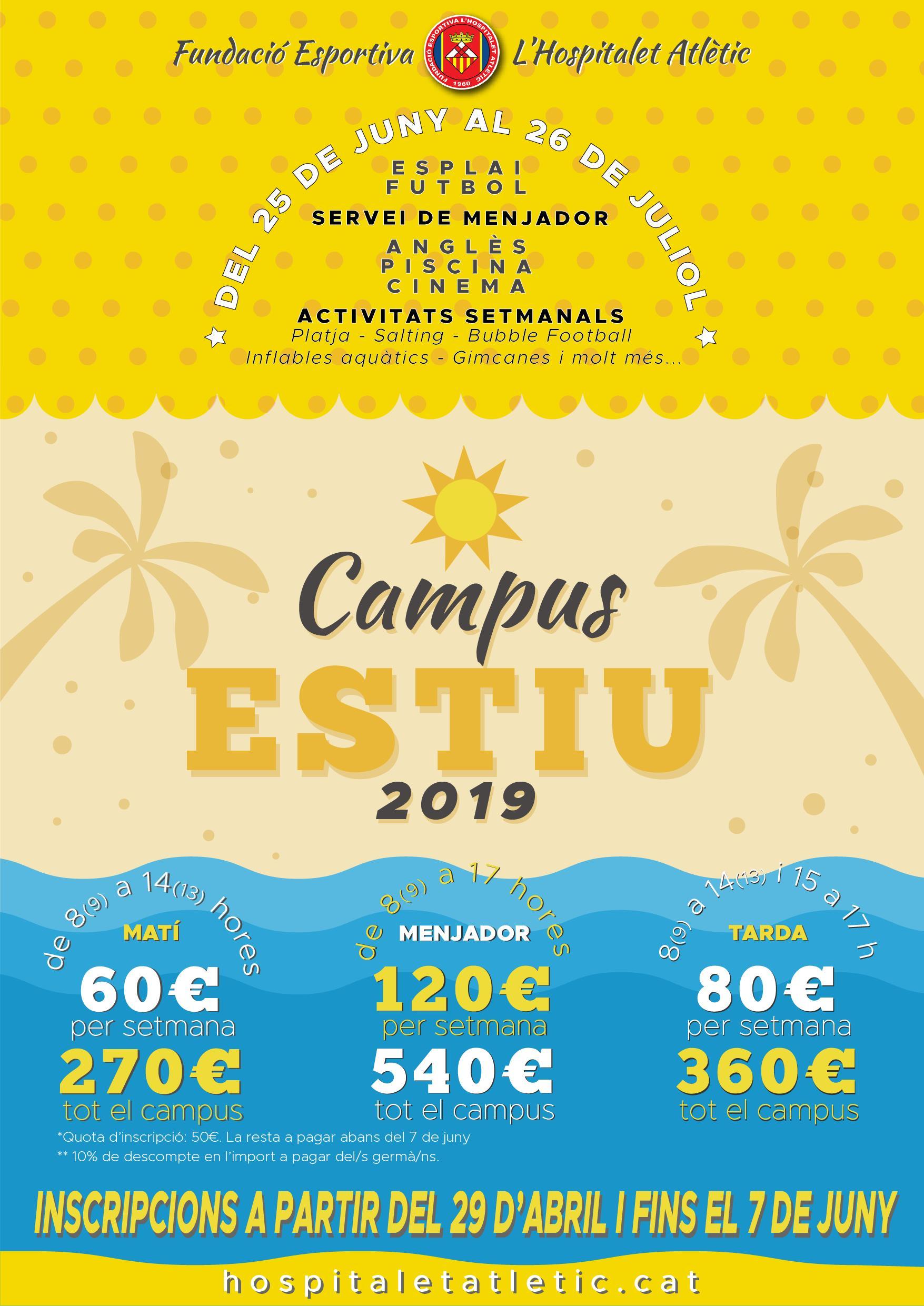 Campus d'estiu 2019