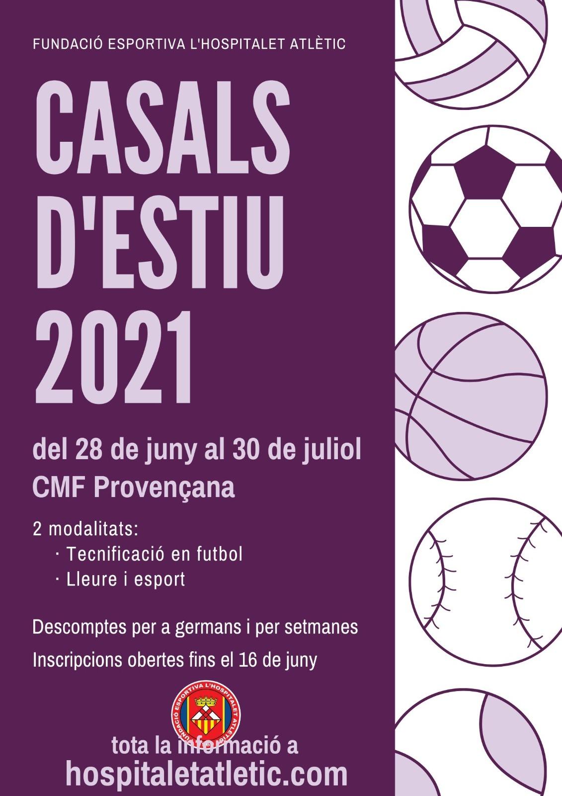 Inscripcions Casals d'estiu 2021
