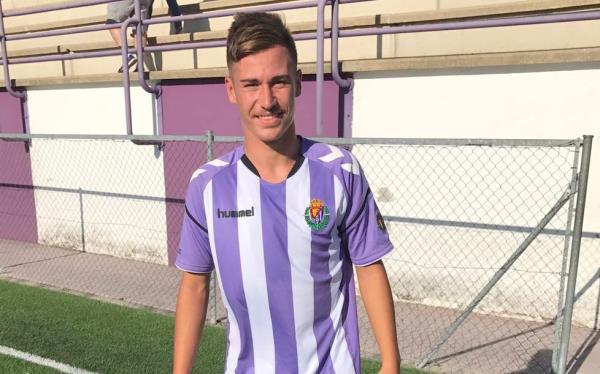 Nuestro ex jugador, Víctor Socorro, debuta con el Valladolid