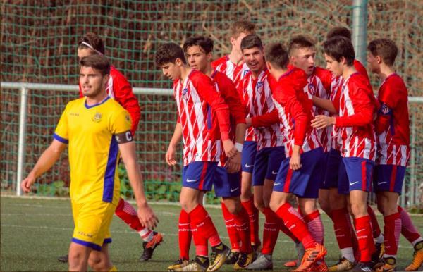 Isaiah debuta con gol en el Atlético de Madrid
