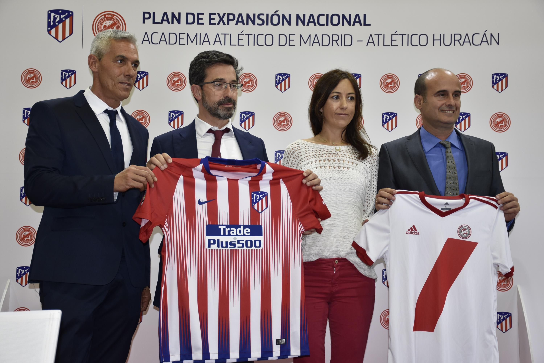 Acuerdo AD Huracán con el Atlético de Madrid