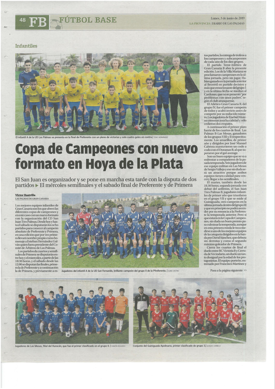 Copa Campeones Infantil