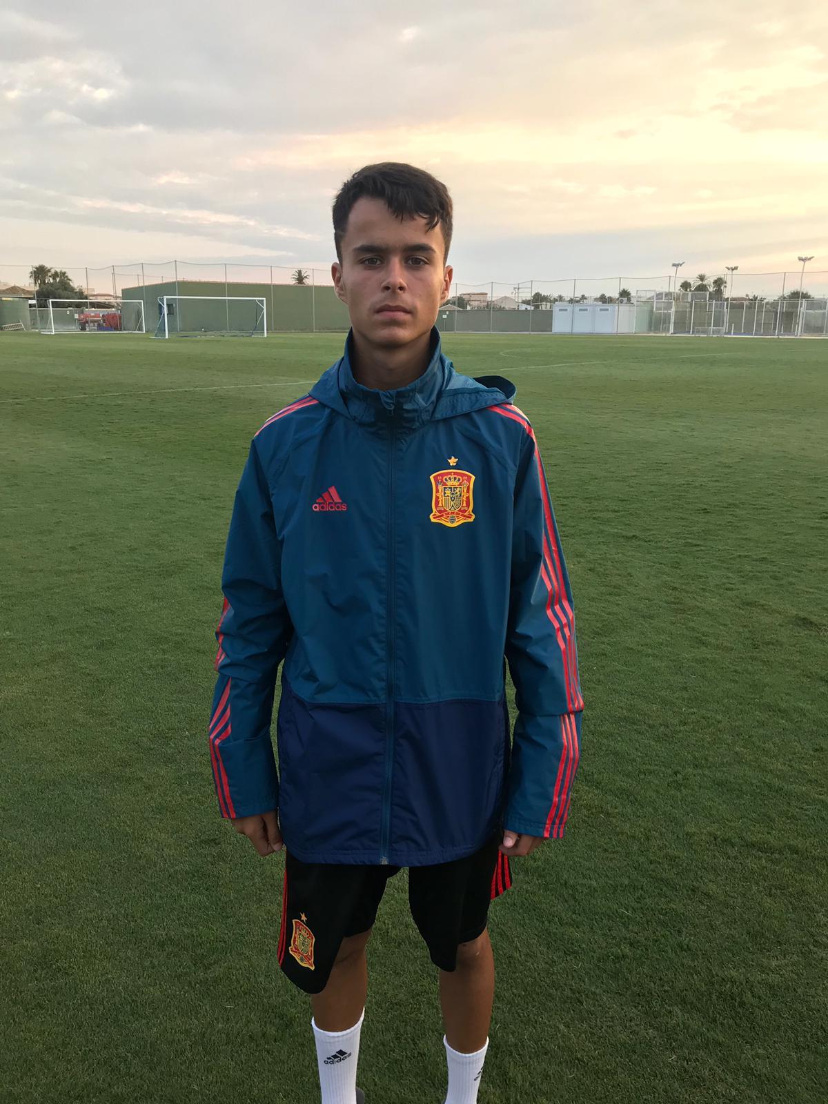 """Ale """"Peque"""" convocado con la Selección Española Sub 15"""