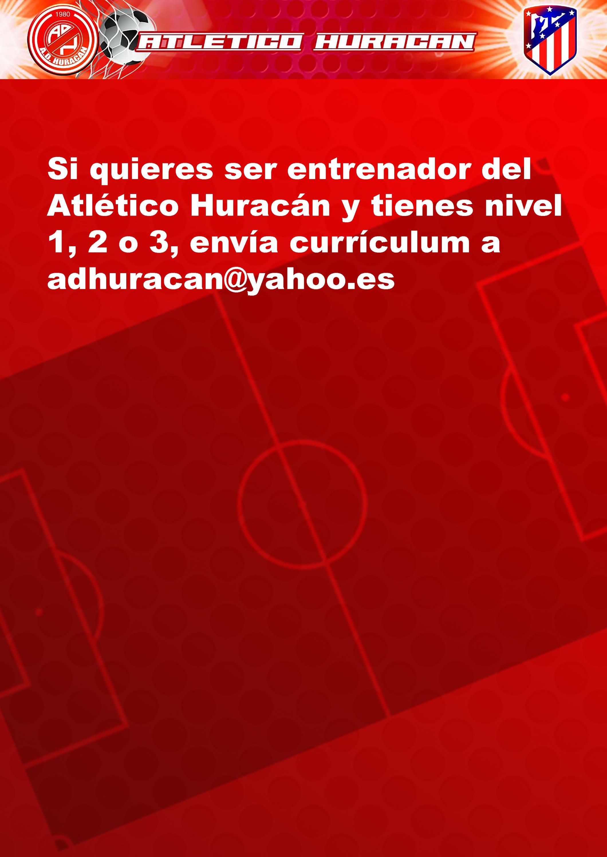 Bolsa de entrenadores  Atlético Huracán