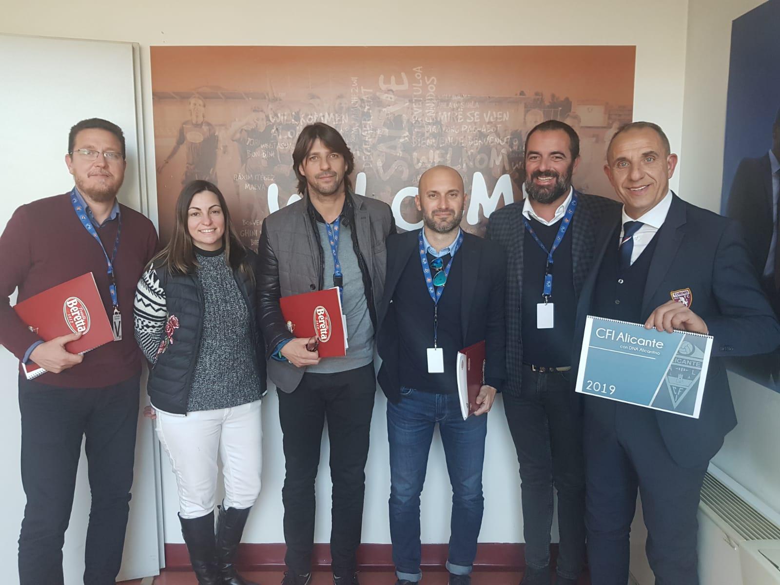 El CFI Alicante visita el Torino FC