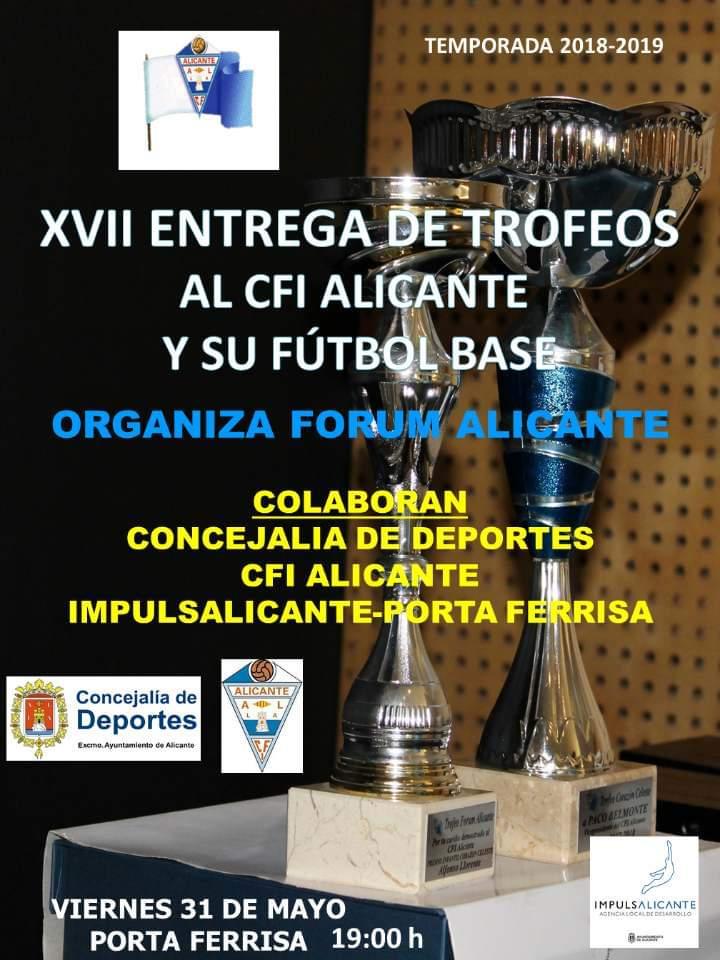 XVII Entrega de trofeos de final de temporada