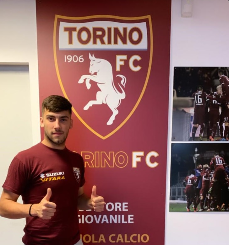 Nuestro jugador juvenil, en pruebas con el Torino FC
