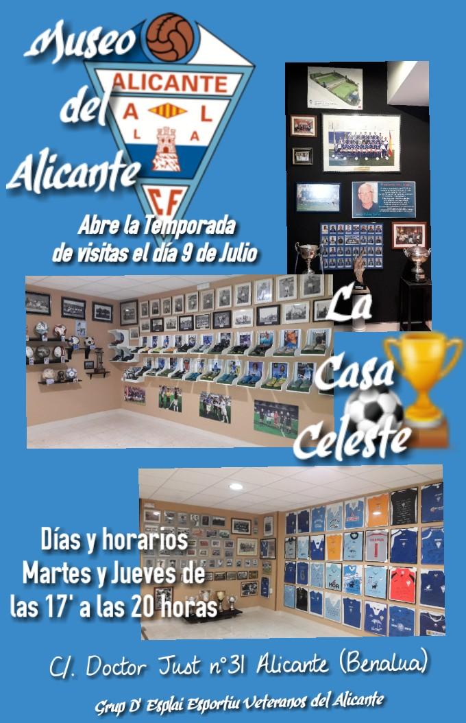 El museo del histórico Alicante CF abre sus puertas