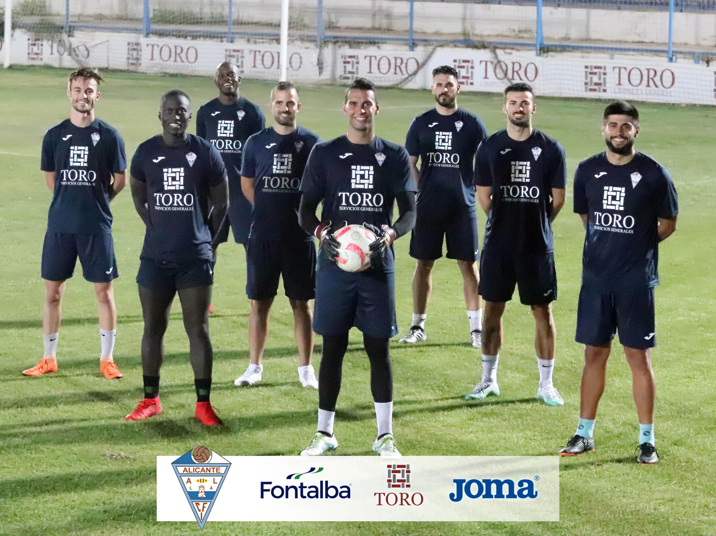 El CFI Alicante se refuerza con ocho nuevas incorporaciones