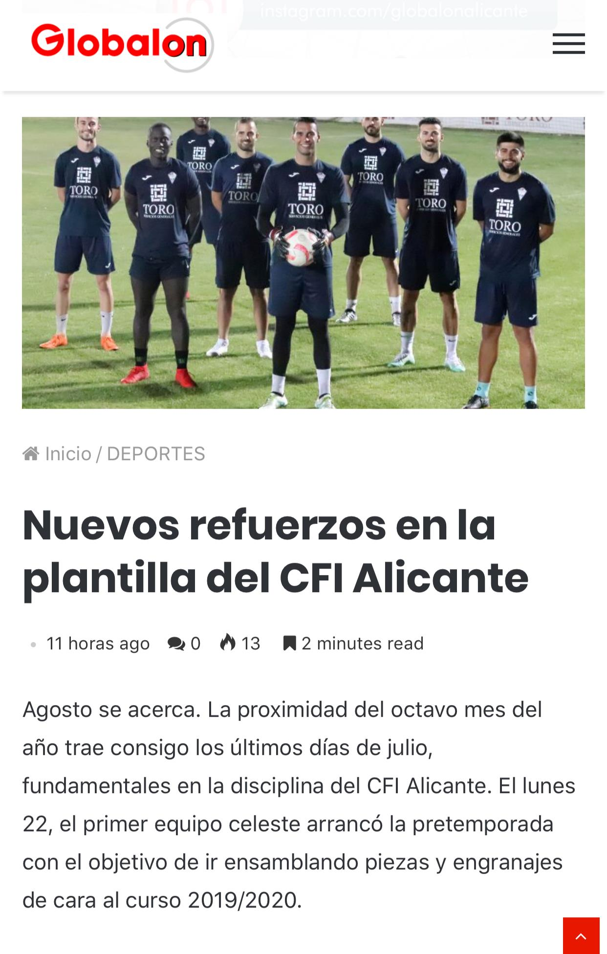 NOTICIA GLOBALON 28/
