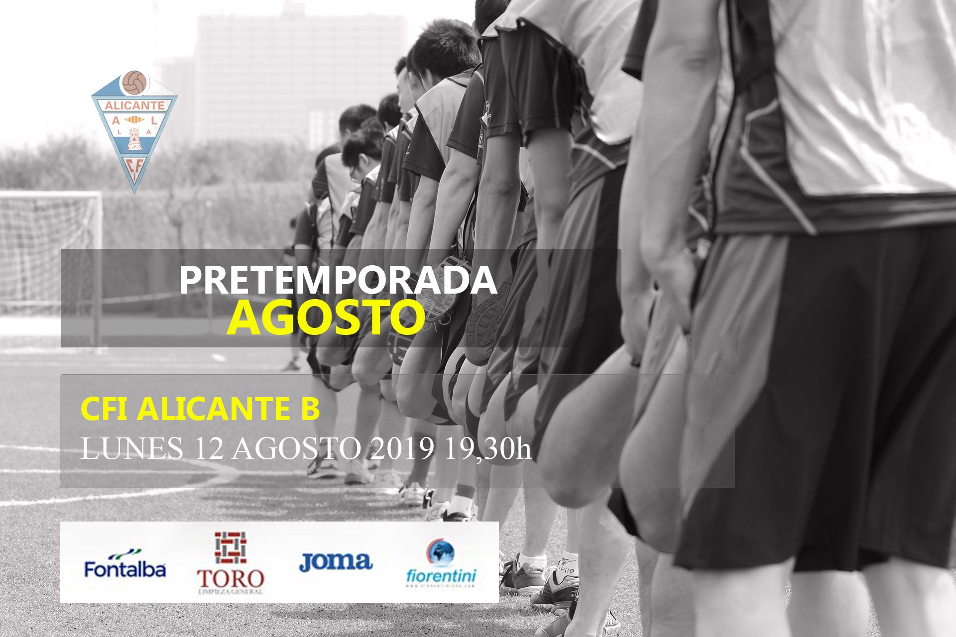 Comunicado Nº 5: Inicio Pretemporada CFI Alicante B