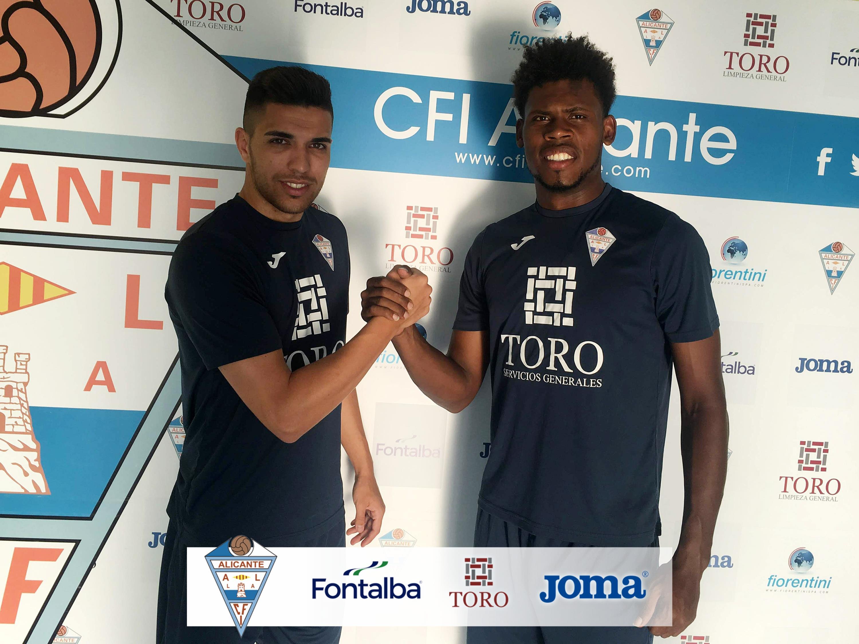 El CFI Alicante se refuerza con Javi Valencia y Samuel Pérez, que debutarán contra el Intercity